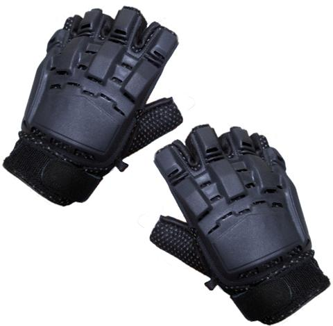 Paintball Half Finger Gloves XL